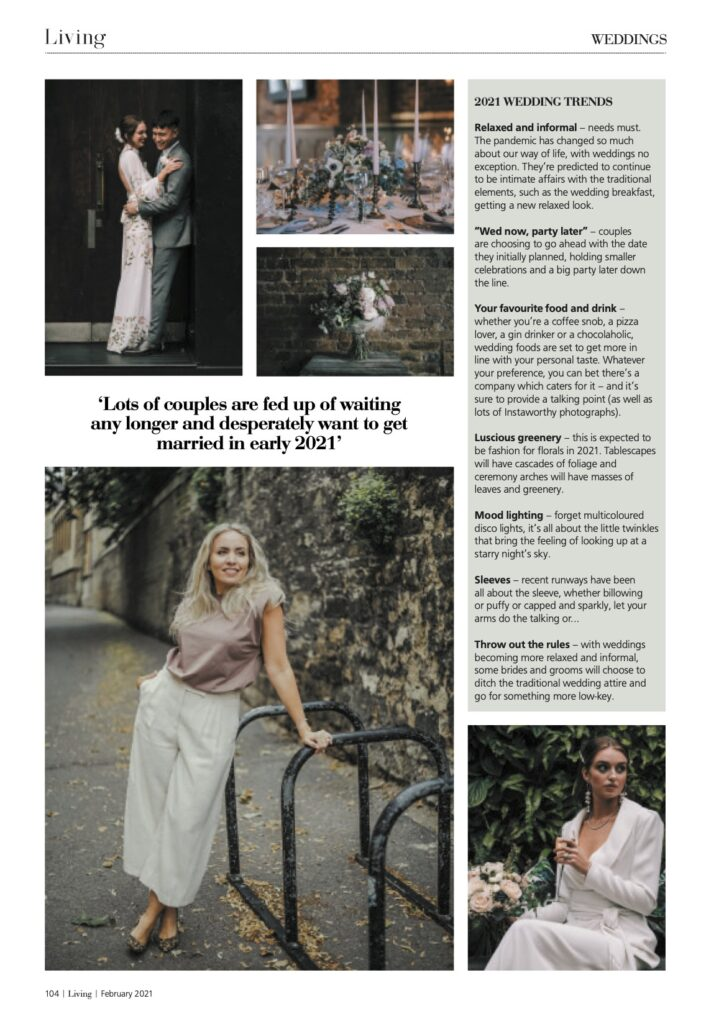 Living Oxfordshire Magazine - February 2021 issue page 104