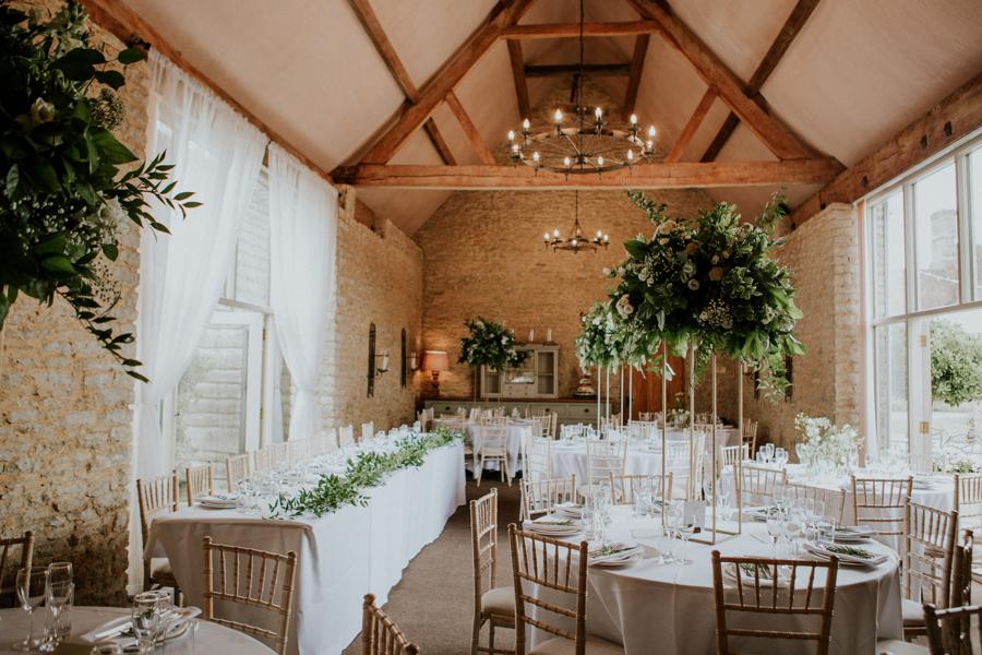 Stratton Court Barn wedding breakfast