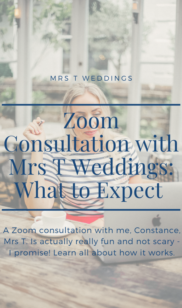 Mrs T Weddings Consultation