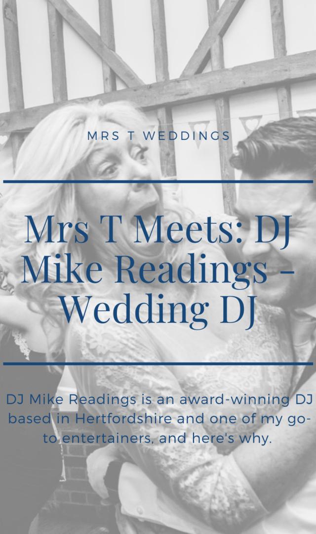 Interview with Wedding DJ