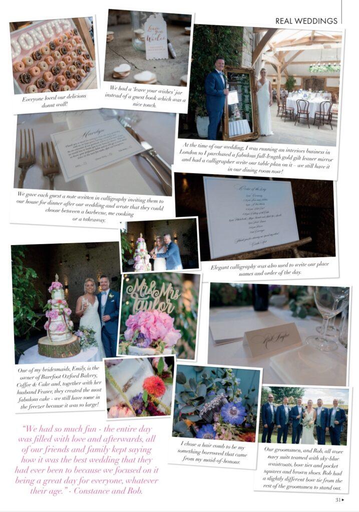 Constance & Rob's Wedding - Cripps Barn